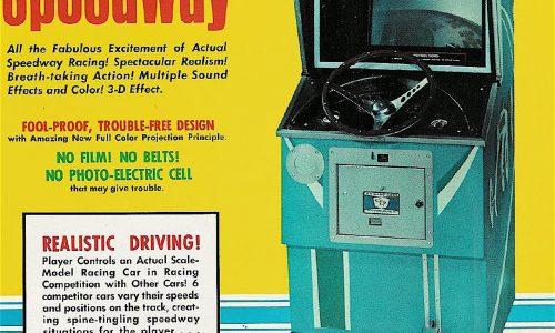 SPEEDWAY Gioco Arcade – Chicago Coin – (1969)