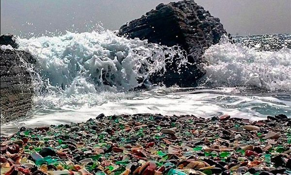 Curiosità dal mondo: Glass Beach Steklyashka Ussuri Bay – Russia – da inferno a Paradiso
