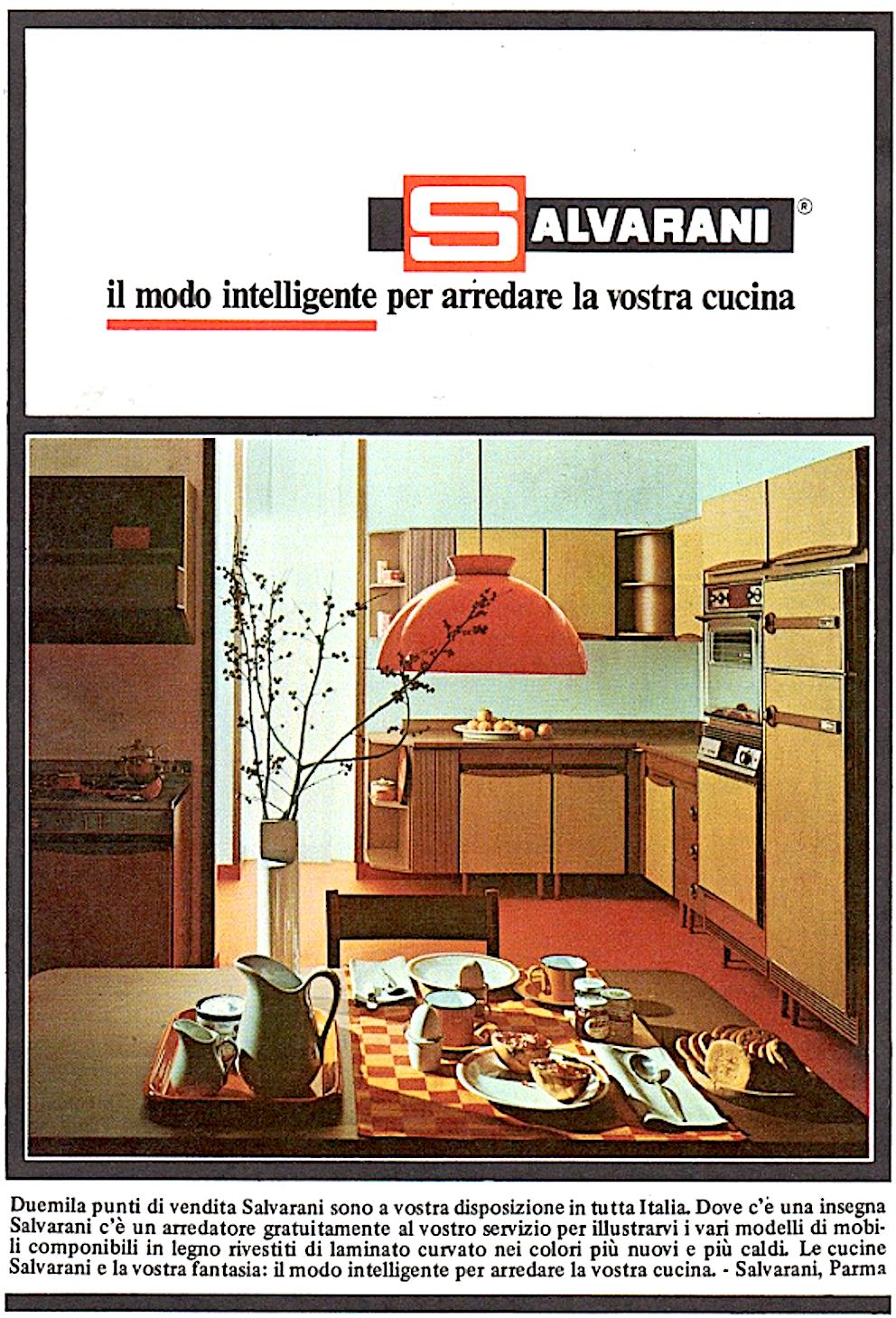 Salvarani le cucine della mamma qui con storia curiosit carosello e tante foto - Cucine anni 70 ...