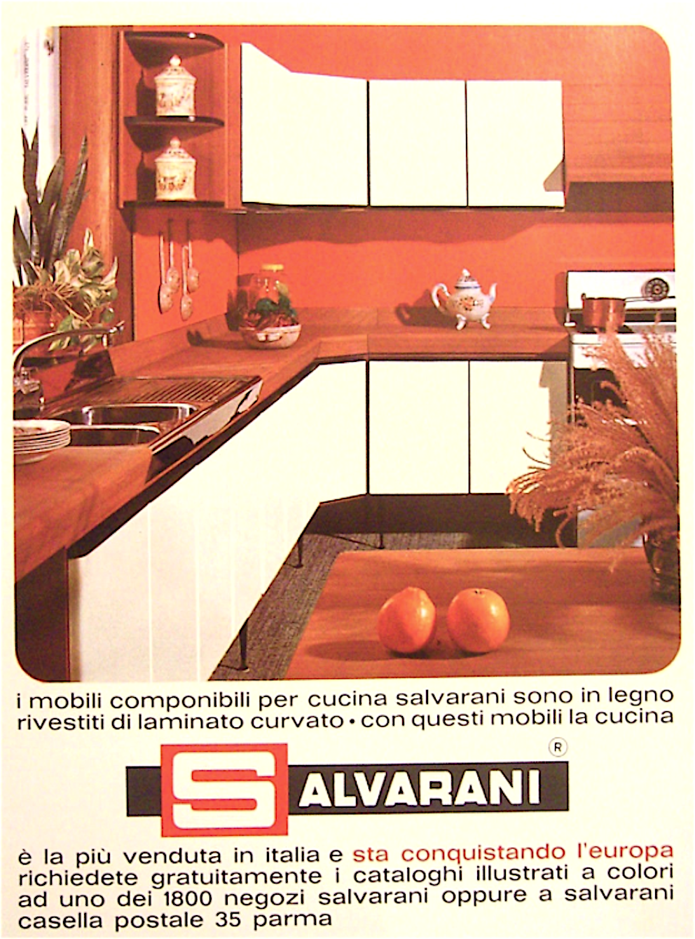 Cucine Componibili Salvarani.Salvarani La Cucina Piu Amata Dalle Nostre Mamme Dal 1939