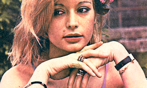 Ricordate KARIN WELL meteora anni '70 e sosia della Carrà ?