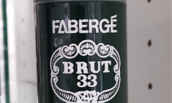 FABERGE' BRUT 33 … il nostro profumo – (dal 1973)
