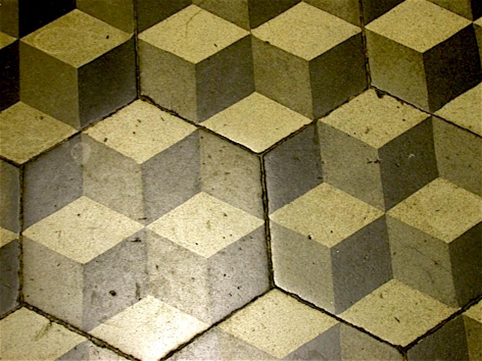 Pavimenti del passato qui con uno dei pi particolari con foto for Piastrelle graniglia