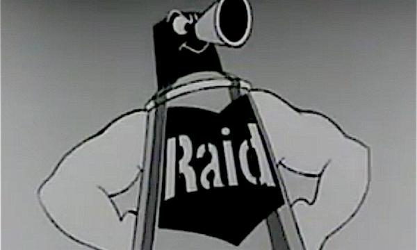 RAID …. li ammazza stecchiti – (dal 1956)