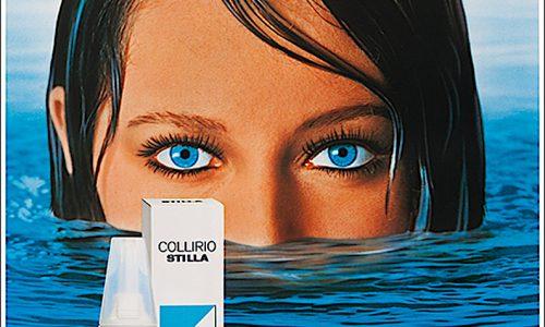COLLIRIO STILLA …. due gocce azzurre negli occhi ! Pubblicità e Carosello