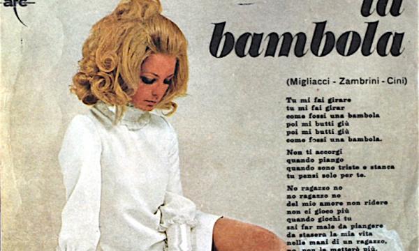 I grandi successi del passato: LA BAMBOLA – Patty Pravo – (1968)