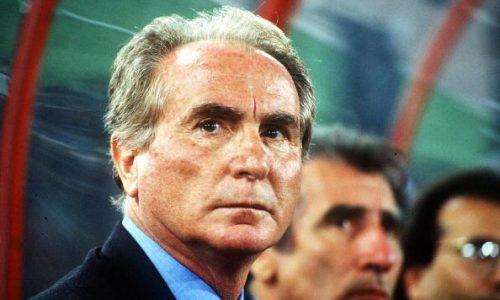 Morto AZEGLIO VICINI il CT della Nazionale ad Italia '90 – (1933/2018)