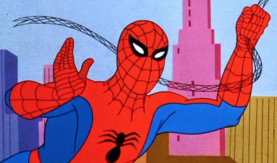 Spider man classica serie animata anni dalla sigla storica