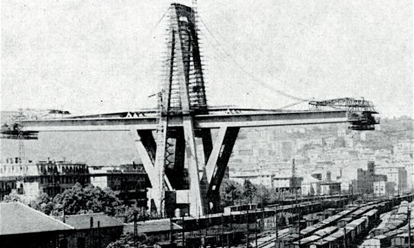 Crolla il VIADOTTO MORANDI a Genova – Storia e curiosità – (dal 1967)
