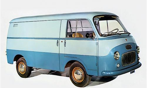 FIAT 1100T il furgone del boom economico – (1957/1971)