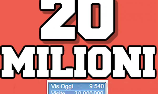 Piacere Franco – Mi presento ai 600.000 fans delle Pagine Facebook e al 20.000.000 contatto al sito