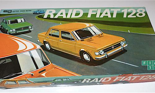 FIAT RAID 128 – Editrice Giochi – (1969)