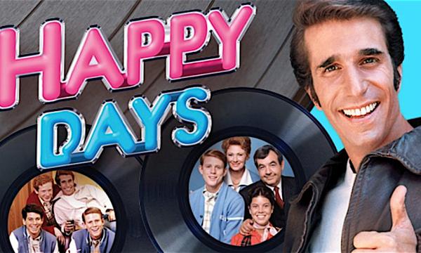Le meteore della serie HAPPY DAYS – SPADINO e CHUCK CUNNIGHAM