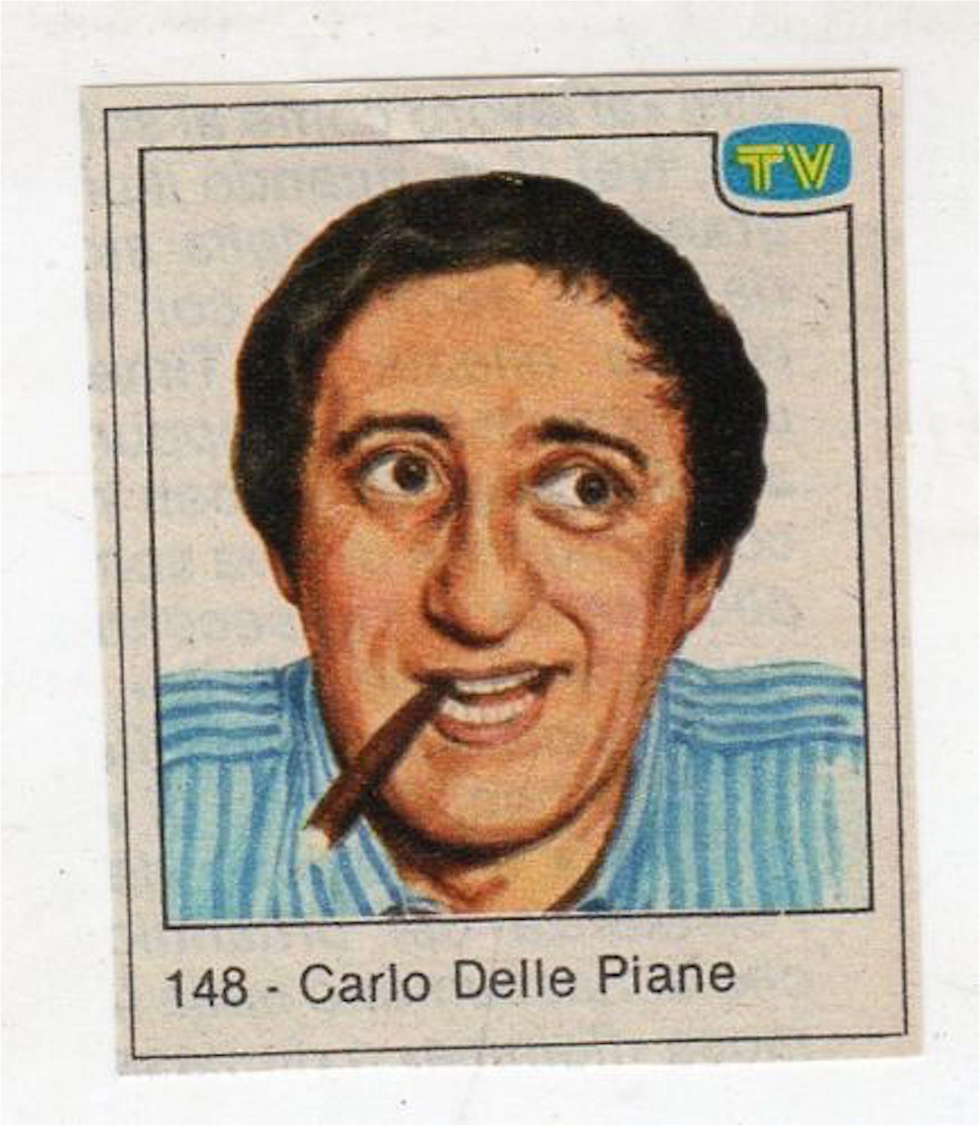 Carlo Delle Piane nelle figurine di Sorrisi e Canzoni