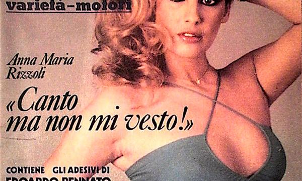 ANNA MARIA RIZZOLI salto nel mondo delle mitiche attrici anni 80