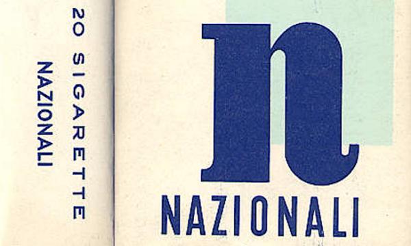 NAZIONALI e POPOLARI le sigarette dei nostri nonni