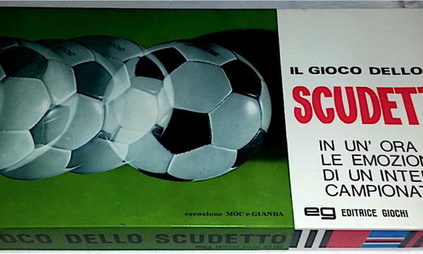 Il gioco dello SCUDETTO – Gioco in scatola – Editrice Giochi – (1970)