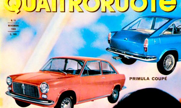 QUATTRORUOTE 1965 – Storia dell'auto attraverso le sue copertine – (Anno IX)