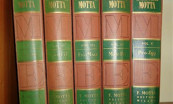 Enciclopedia MOTTA – (dal 1952)
