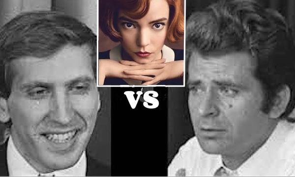 """SPASSKIJ vs FISCHER … l'incontro del secolo (1972) – Rivissuto nella serie TV """"La Regina degli scacchi"""""""