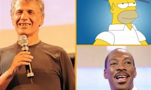 Tributo a TONINO ACCOLLA mitica voce di Homer Simpson e Eddie Murphy (1949/2013)